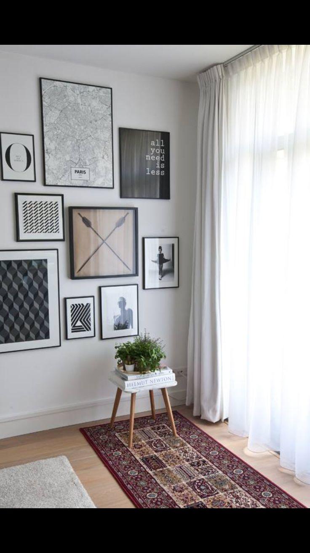 Schilderijen woonkamer