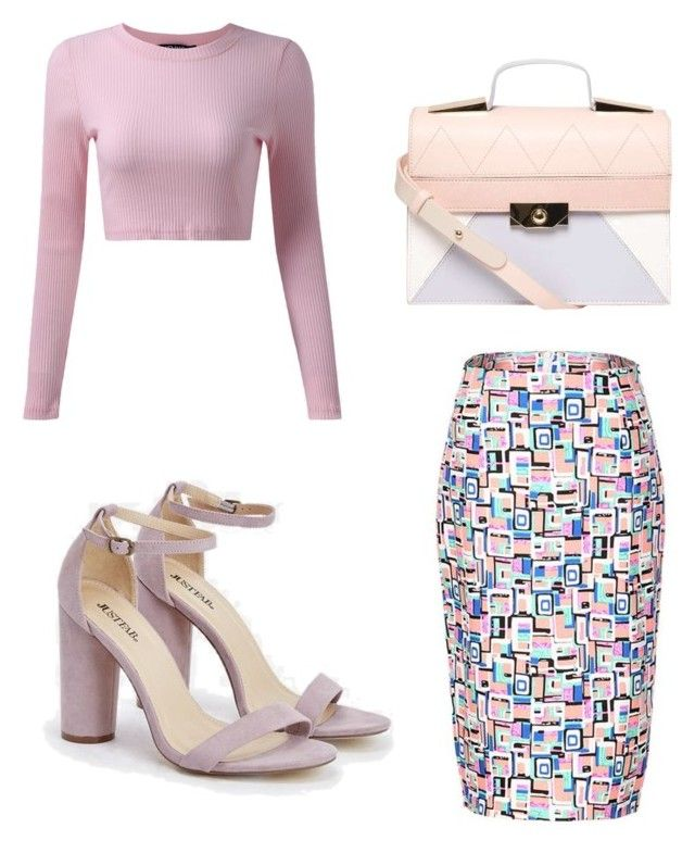 My First Polyvore Outfit by explorer-14916524201 on Polyvore featuring polyvore fashion style JustFab Dorothy Perkins clothing