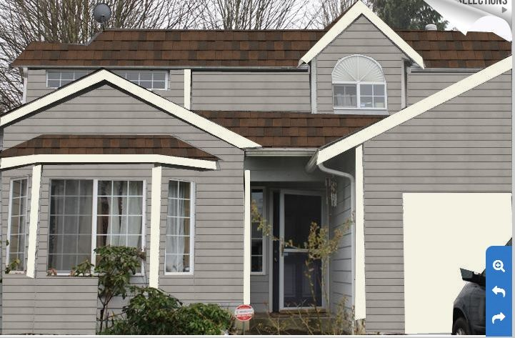 Granite Grey Paint And Burnt Sienna Roof Deciding House Roof And Paint Colors Pinterest