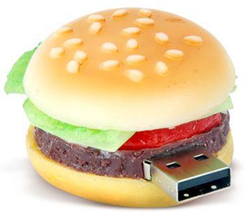 Hamburger USB | Community Post: 8 Foods Shaped Like Technology