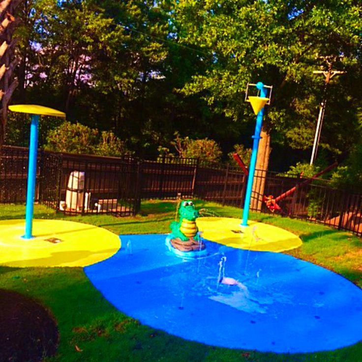 Fun Mickey Mouse Inspired Backyard Splash Pad