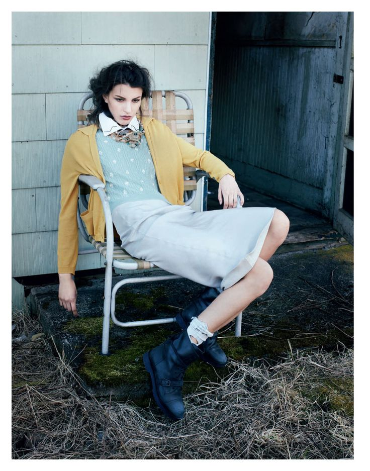 Kate King by Arno Frugier for Interview Russia May 2012
