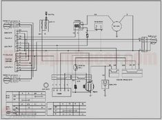 Taotao 110cc atv Wiring Diagram 110cc Chinese atv Wiring