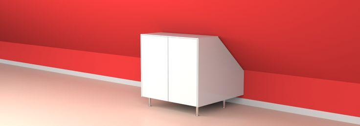 Atticco shelves, closets and drawers to benefit rrom every square meter under the eaves / sloped ceiling