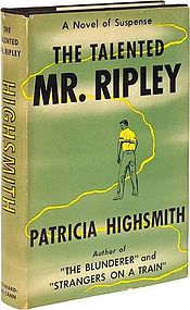 The Talented Mr. Ripley is a 1955 psychological thriller novel by Patricia Highsmith. This novel first introduced the character of Tom Ripley who returns in the novels Ripley Under Ground, Ripley's Game, The Boy Who Followed Ripley and Ripley Under Water. The five novels are known collectively as the Ripliad.
