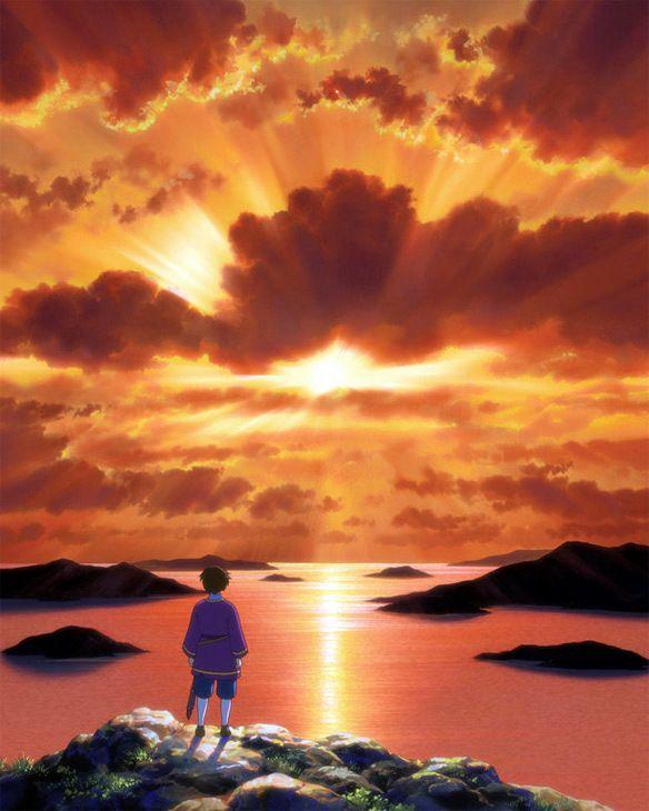 Memories of Sayuri: Hoshi wo ou Kodomo, Makoto Shinkai 1024×768 Cuentos de terramar wallpaper (41 Wallpapers) | Adorable Wallpapers