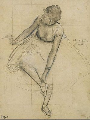 Scribble Junkies: Classic Tuesday Inspiration: Edgar Degas Drawings..