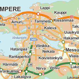 Tampereen julkisen liikenteen reittiopas - Repa Reittiopas.