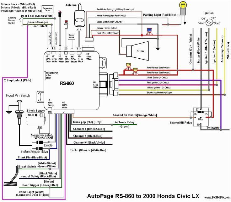 Viper 5706 Install Pdf Elegant In 2020 Car Alarm Honda Civic 2000 Honda Civic
