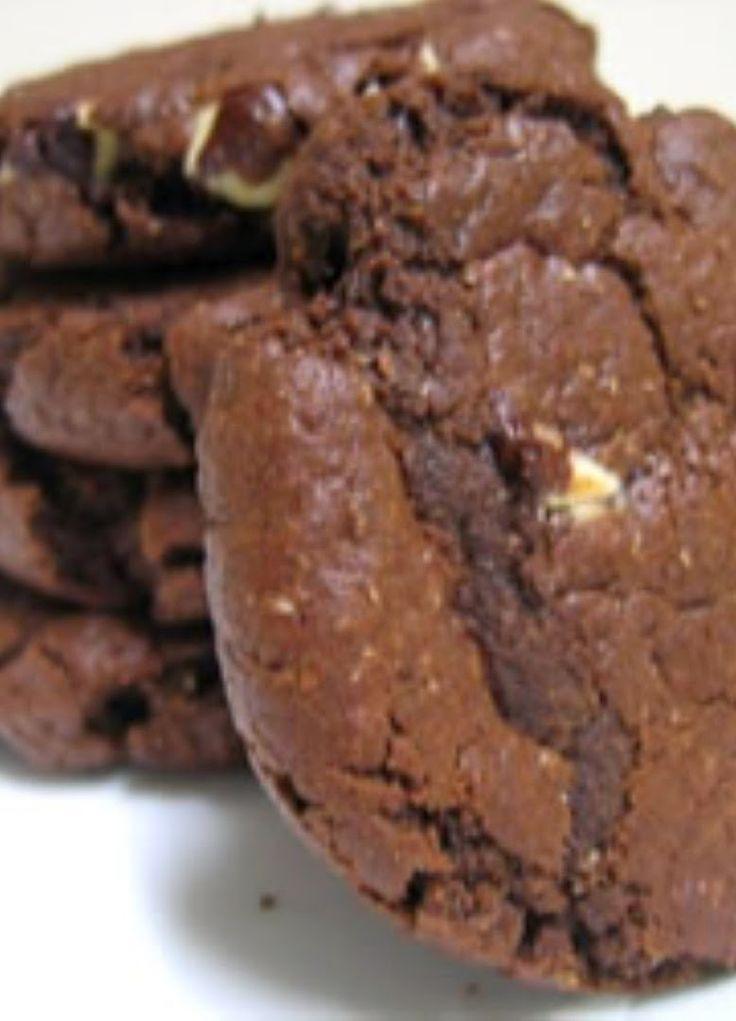 Chocolate Chocolate Chip Cookies   Kitchen Vista's