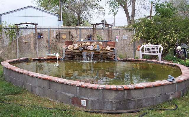 31 Build Beautiful Above Ground Pond With Simple Design Above