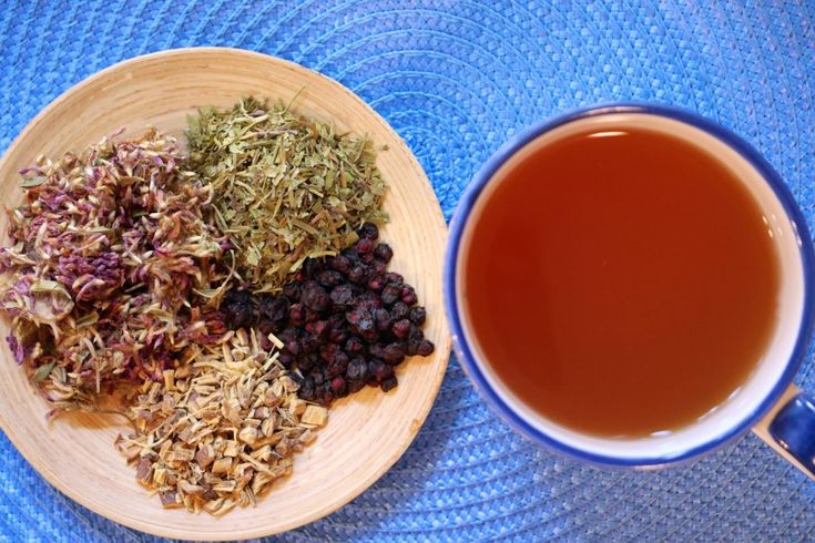 Cerebral Support Tea      2 tbsp. gotu kola (Centella asiatica),     1½ tbsp. red clover (Trifolium pratense),     1 tbsp. licorice root (Glycyrrhiza glabra),     1 tbsp. ginkgo leaf (Ginkgo biloba),     ½ tbsp. schisandra berries (Schisandra chinensis),  Put all ingredients into a 32 ounce French press or a mason jar. Cover with boiling water and steep 15-20 minutes. Drink 2-3 cups daily.