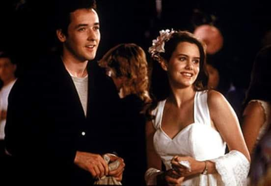 """John Cusack and Ione Skye in """"Say Anything"""" (1989)."""