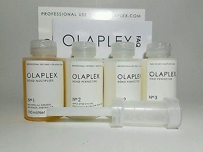 Olaplex Salon Intro Kit Professional Use No 1,2,3 Size 3.3oz *3 Steps*