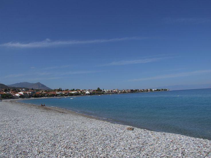 Sykia beach view