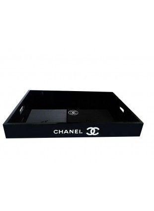 Поднос Chanel Chic Black