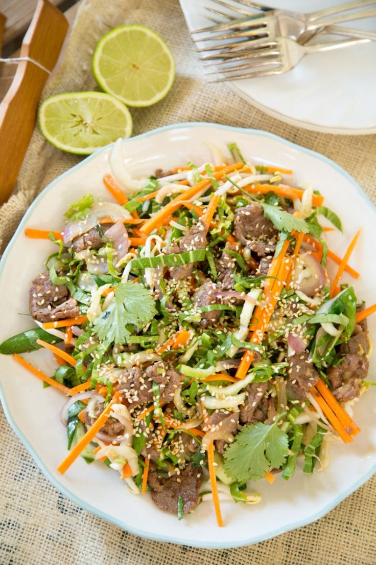 You know how anchovies go so well with lamb? Well it's the same with oyster sauce, which provides a delicious savoury 'umami' flavour. This salad uses finely shredded raw bok choy, which adds lots of freshness with a bit of … Continued