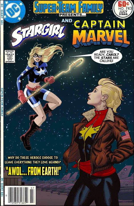 Super-Team Family: The Lost Issues!: Stargirl and Captain ...
