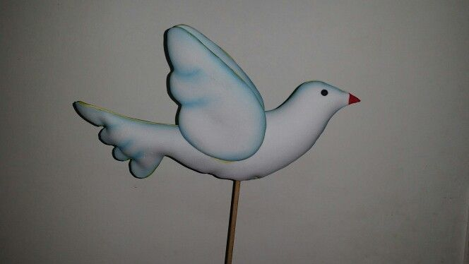 Paloma de la paz en foami