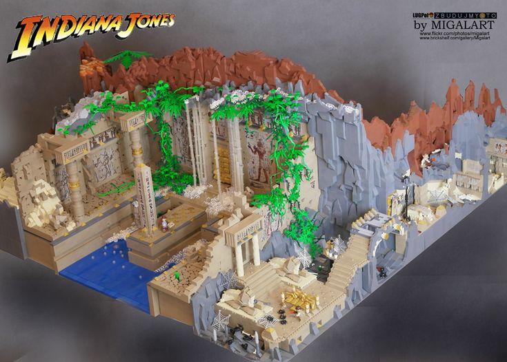 Indiana Jones Lego MOC