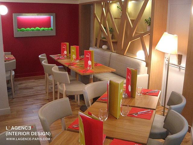 shake eat by l'agence interior design renovation bar restaurant architecte interieur decorateur paris www.lagence-paris.com by regisconseil, via Flickr