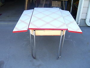 Enamel Kitchen Table
