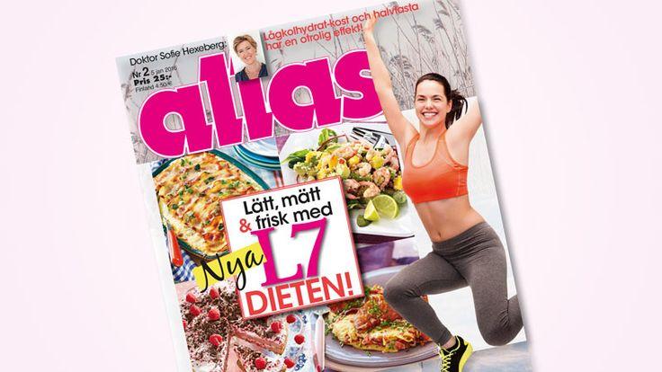 Nya enkla succémetoden – Allas presenterar L7-dieten!