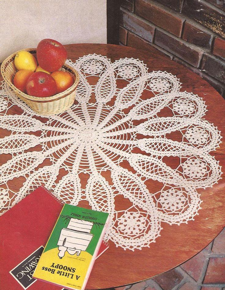 Coleccin de tapetes en ganchillo con patrones Crochet Patrones