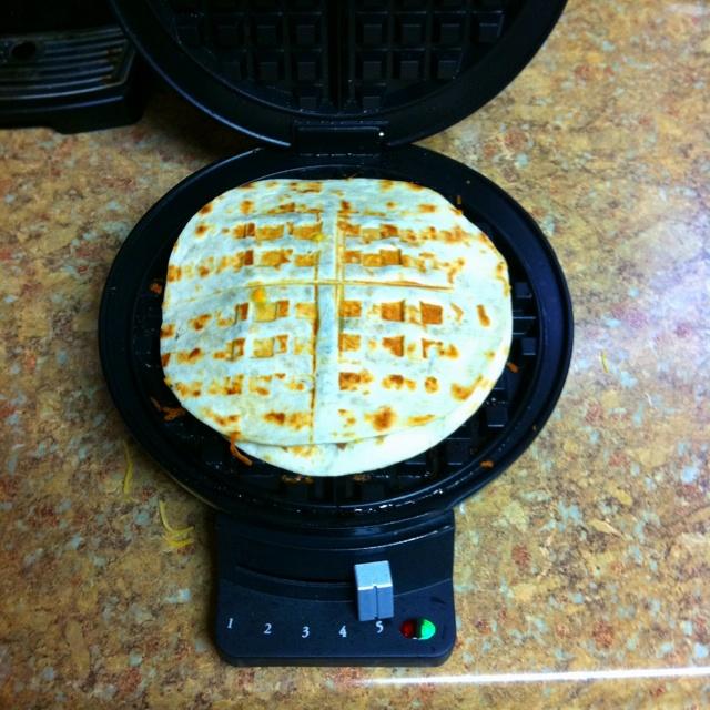 Quesadilla maker :)