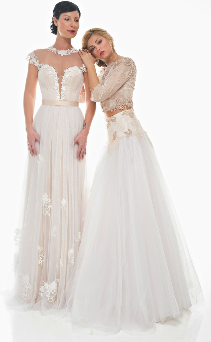 """Dimitris Katselis"" bridal collection is simply romantic with a feminine touch."