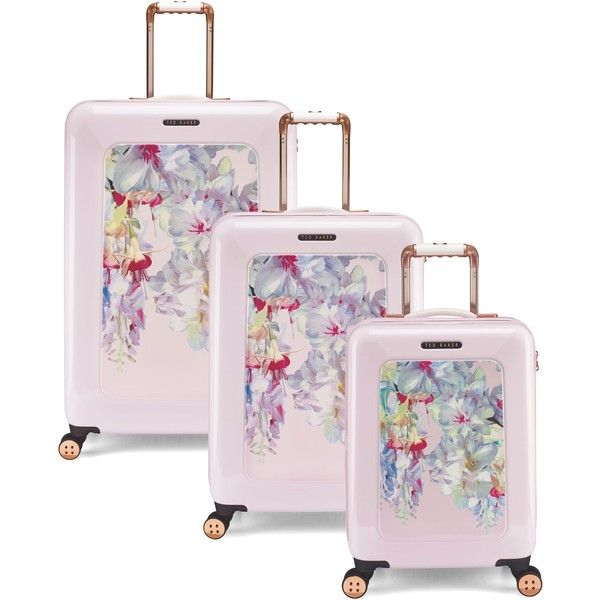 Suitcases & Luggage UK   Buy Luggage Sets Online   House of Fraser ❤ liked on Polyvore featuring bags and luggage