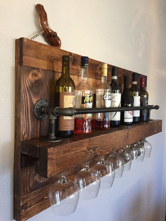 25 Best Ideas About Rustic Wine Racks On Pinterest Wine