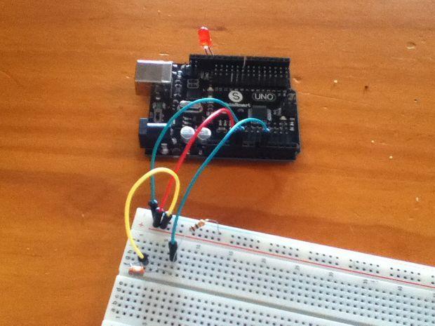 2 Minute Arduino Laser Alarm