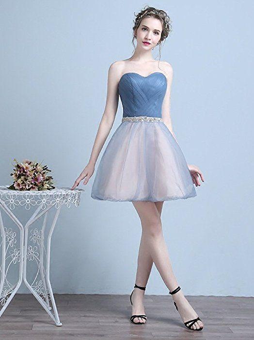 Amazon | DRASAWEE(JP)レディース プリンセスドレス イブニングドレス ショート丈 かわいい ウェディングドレス 着痩せ ビスチェ 編み上げタイプ エレガント 結婚式 発表会 ドレス 花嫁介添えドレス XXL | ドレス 通販