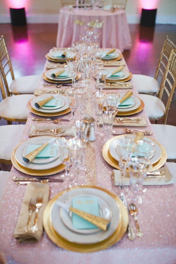 1000 Ideas About Gold Table Settings On Pinterest Table