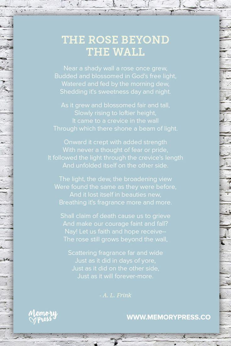memorial day church poems