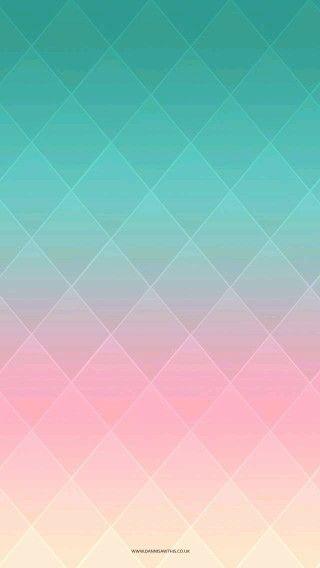 Rombos azul-rosa-amarillo | Fondo de pantalla | Pinterest