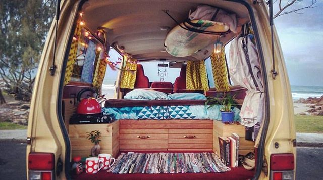 Over the years I've learned that the heart needs a place to call home...why not make home an epic van? : @danielspencer_