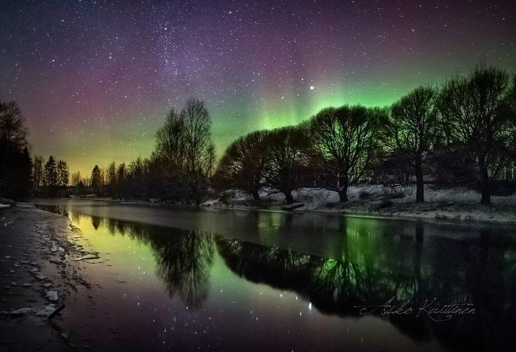Northen lights, Finland by Asko Kuittinen