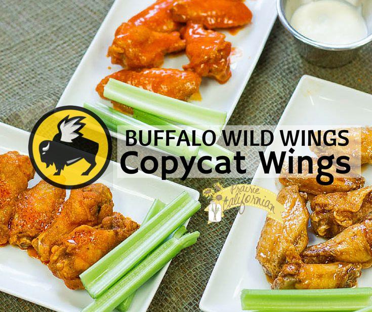 Buffalo Wild Wings inspired copycat wing recipes