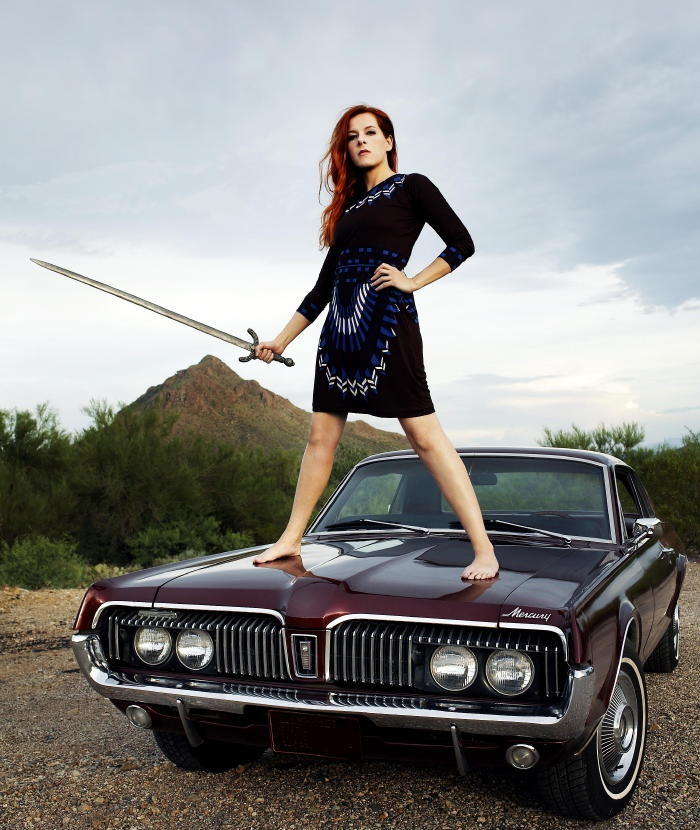 Neko Case.: Girls, Heart Music, Classic Cars, Middle Cyclones, Muscle Cars, Neko Cases, Cars Photoshoot, Mercury Cougar, People