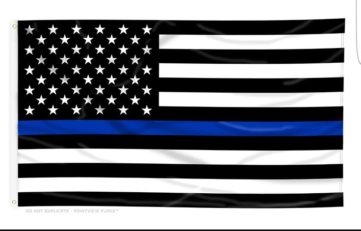 U.S. Thin Blue Line Flag