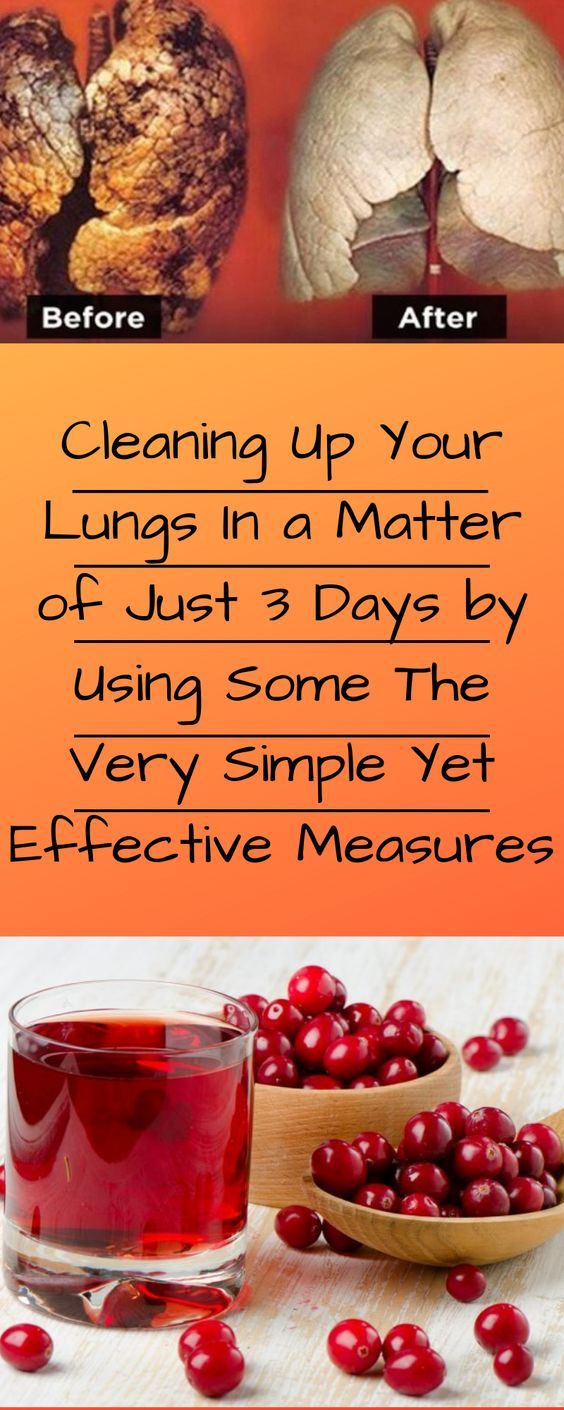 Cleaning Up Your Lungs In a Matter of Just 3 Days by Using ...