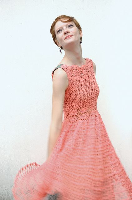 EXqusite Crochet fashion !  Lolita Crochet Dress 4 by margosha_b, via Flickr
