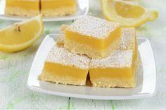 Magníficos brownies de limón