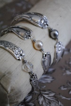 Silver Spoon Jewelry by jeanine.jain. Make residual income online while upcycling items. www.workwithbrandy.com