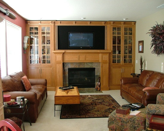 Diy Entertainment Center Plans With Fireplace
