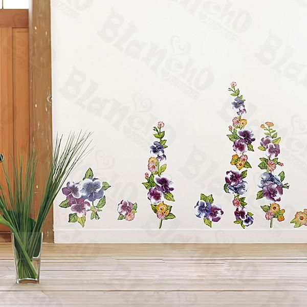 Flower decor 1 wall decals stickers appliques home decor