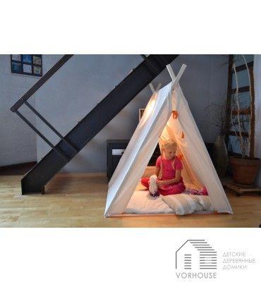 """Детская палатка """"ПРИВАЛ"""". Детские палатки-домики можно установить как в комнате ребенка, так и на дачном участке для защиты от солнца."""