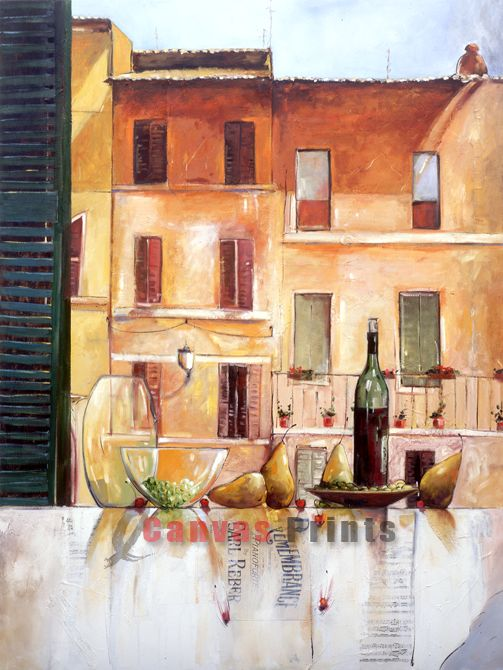 """Facades of Italy"" Limited Edition by Judith Dalozzo"